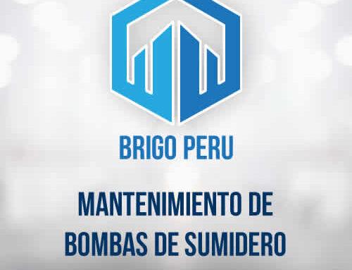 MANTENIMIENTO DE BOMBAS DE SUMIDERO