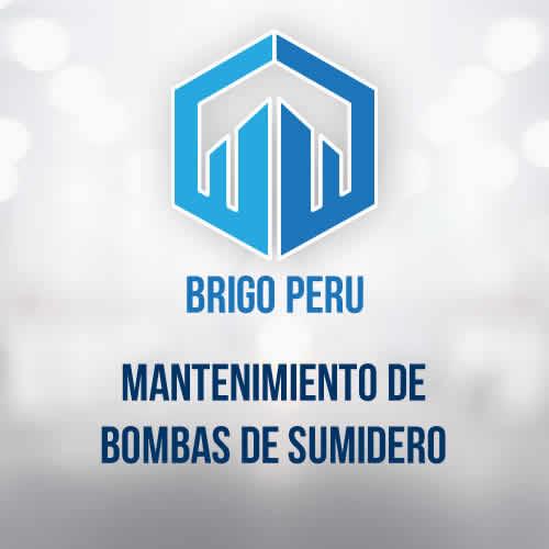 BRIGO PERU | MANTENIMIENTO DE BOMBAS DE SUMIDERO